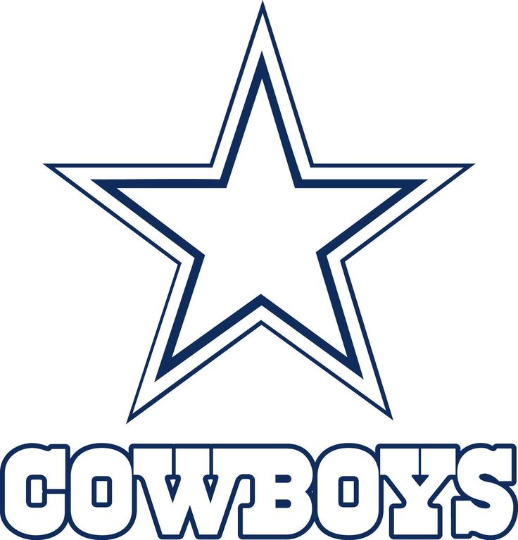 Dallas cowboys clipart book. Star clip art abeoncliparts
