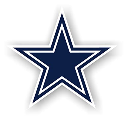 Nfl inch vinyl logo. Dallas cowboys clipart book