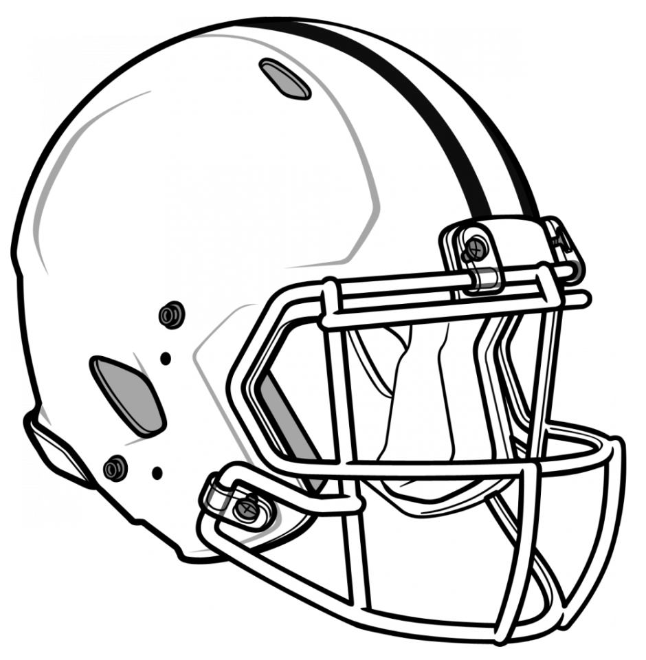 Dallas cowboys clipart coloring page. Free football pages printable