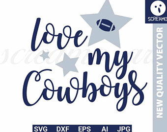 Fan svg etsy . Dallas cowboys clipart cute