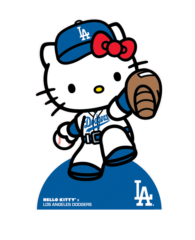 Golfer clipart duffer. Los angeles dodgers on
