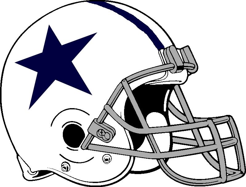 Dallas cowboys clipart helment. Free football cowboy cliparts