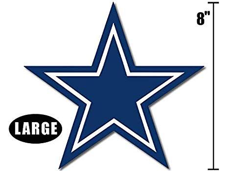American vinyl inch blue. Dallas cowboys clipart large