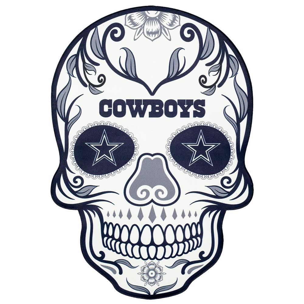Nfl outdoor skull graphic. Dallas cowboys clipart large