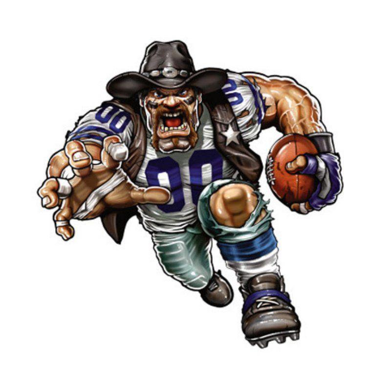 Fathead nfl wall decal. Dallas cowboys clipart mascot