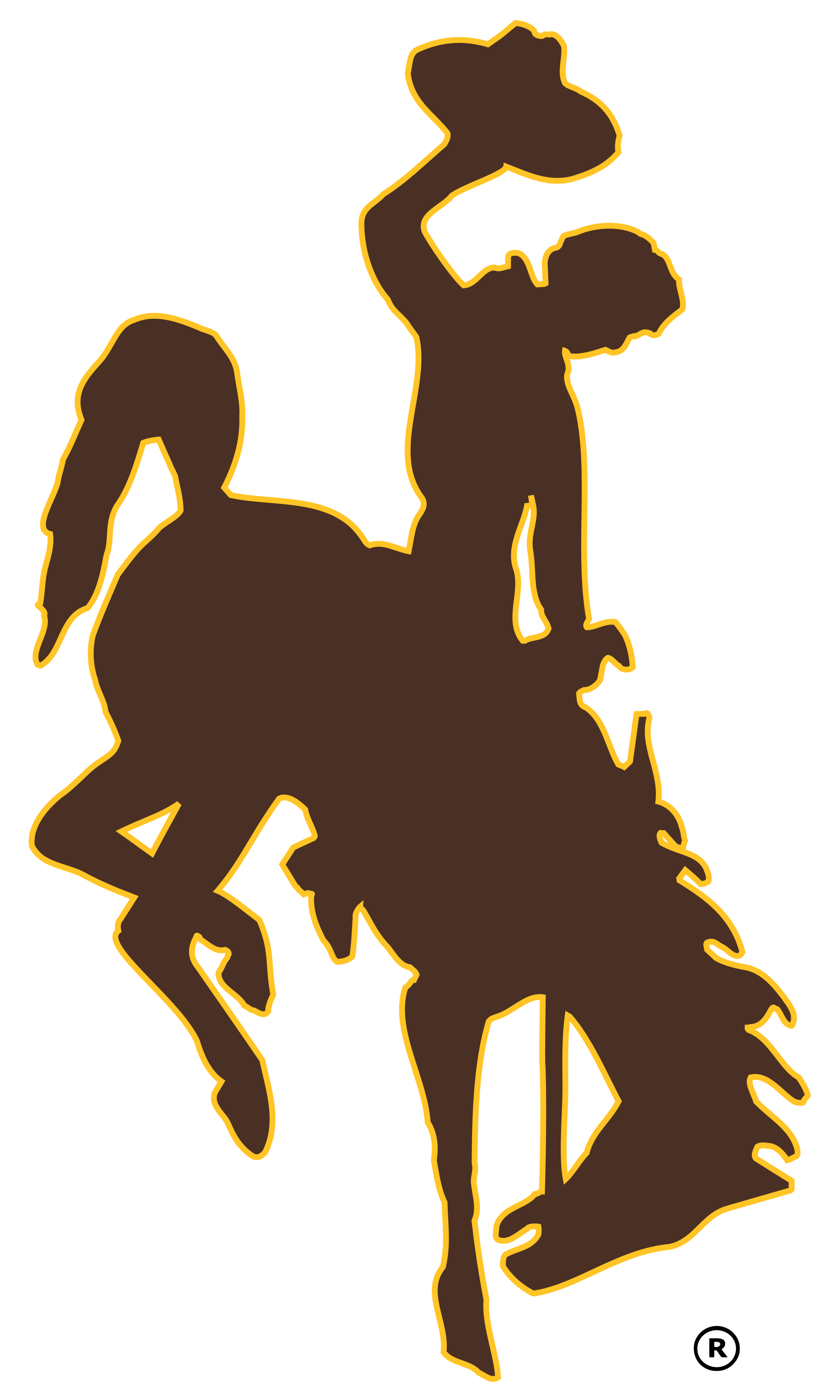 Wyoming football wikipedia the. Dallas cowboys clipart mascot