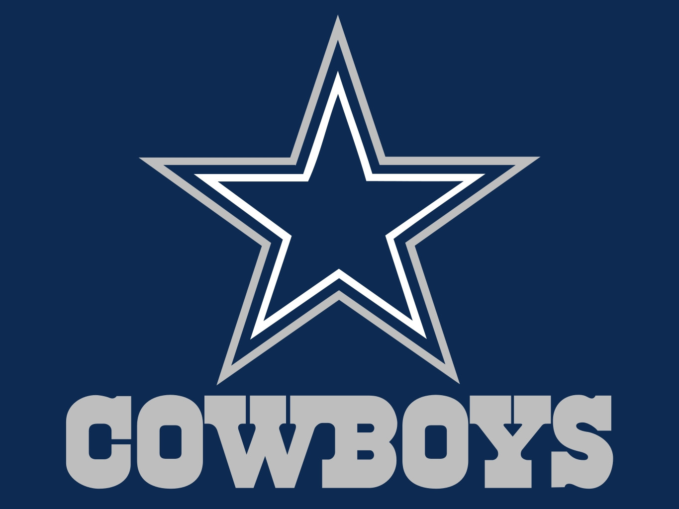 Dallas cowboys clipart official. Awesome logos transparent