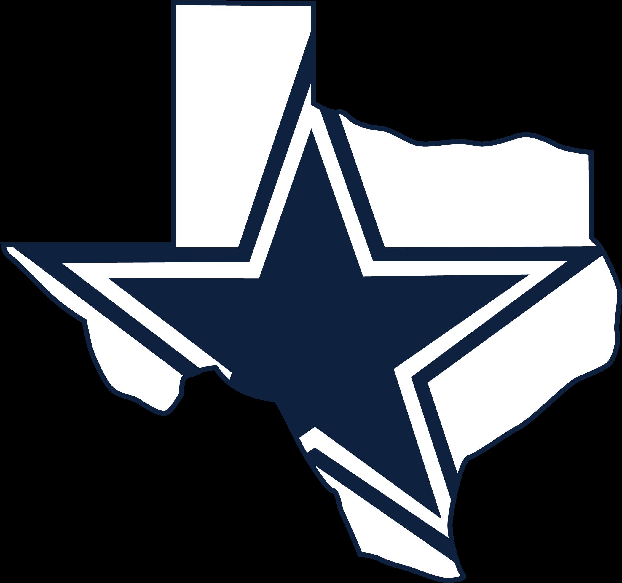 Dallas cowboys clipart outline. Yeti black