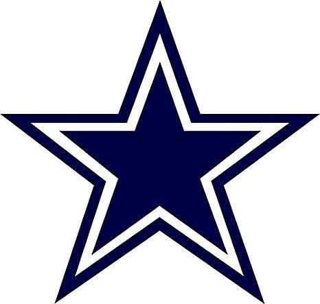 Skyhighprint nfl football sport. Dallas cowboys clipart outline
