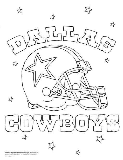Coloring page baby jase. Dallas cowboys clipart sheet