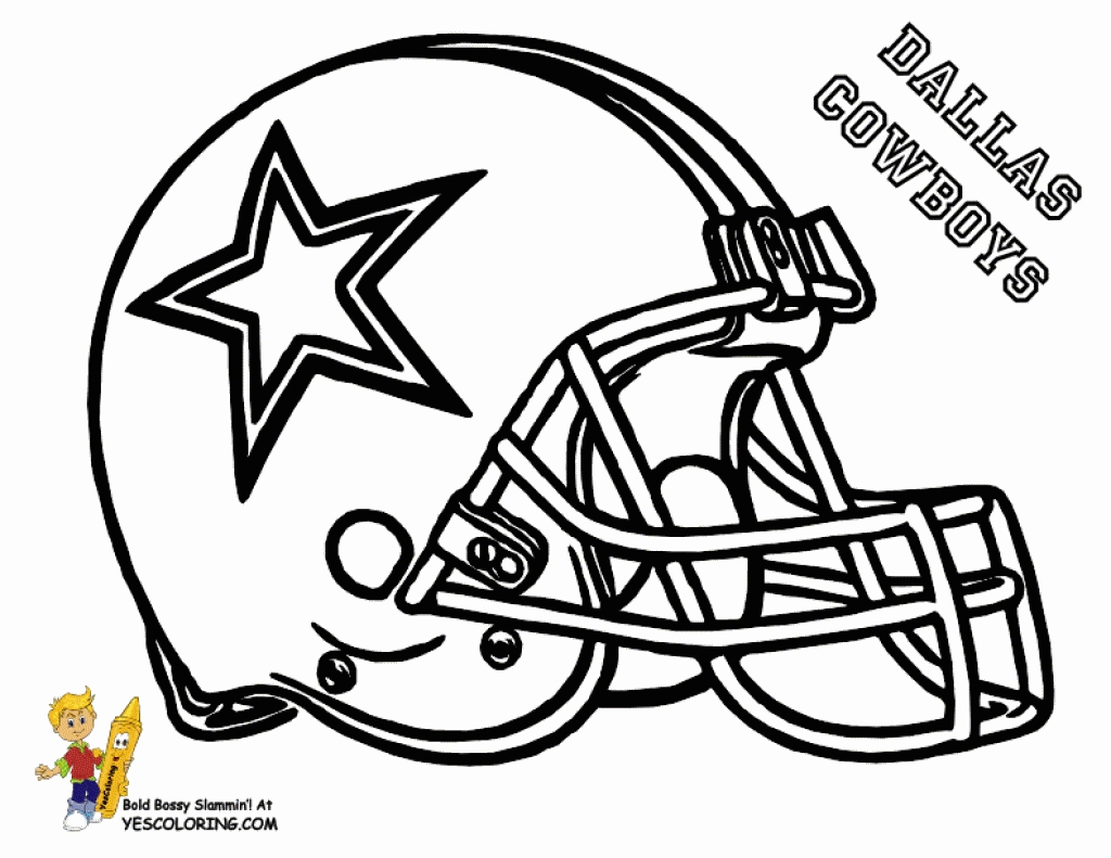 Coloring pages astonishing . Dallas cowboys clipart sheet