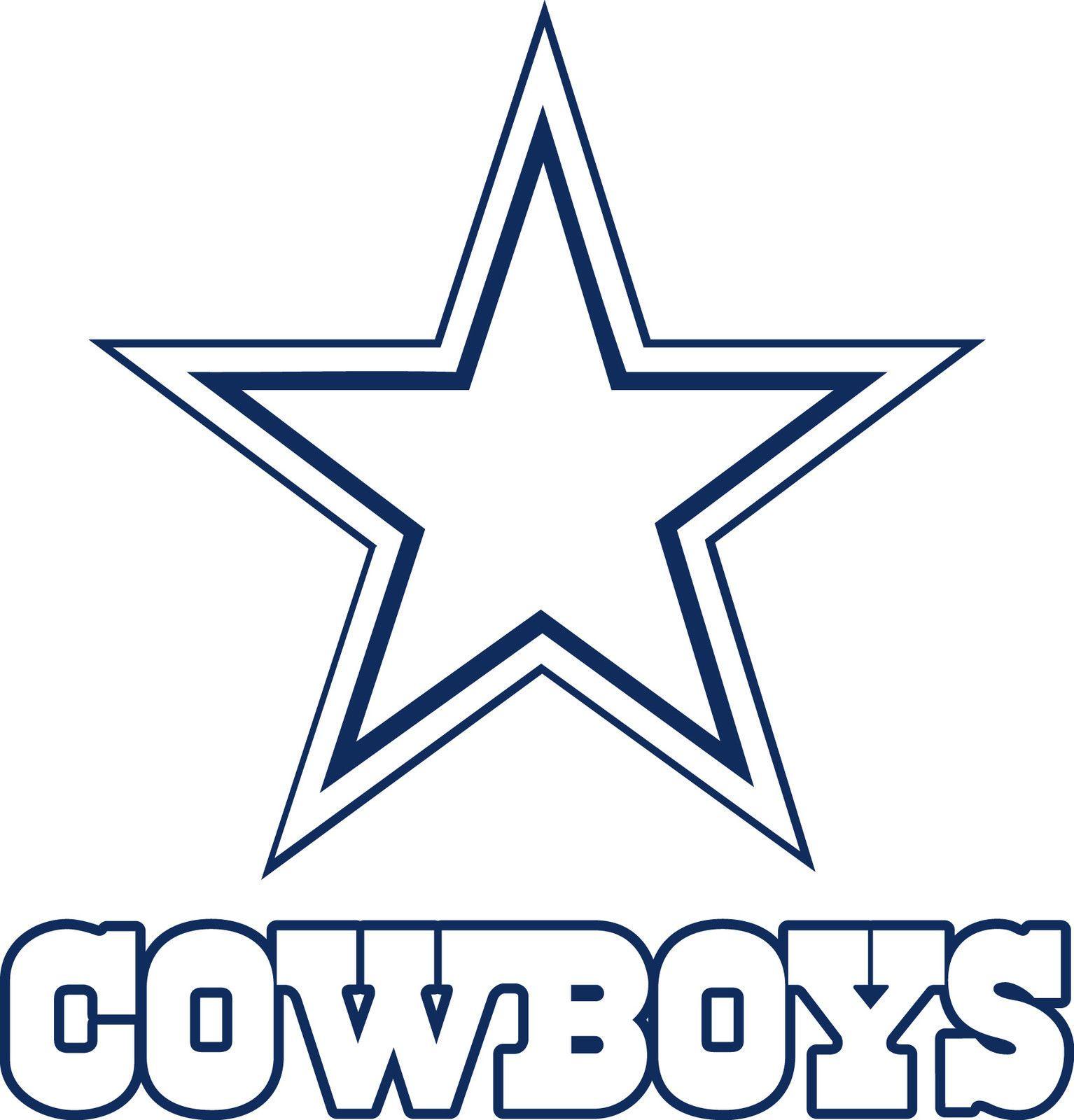 Dallas cowboys clipart sketch. Logo drawings star lo