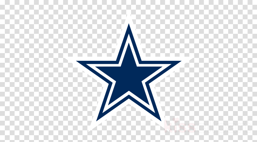 Nfl blue star image. Dallas cowboys clipart transparent