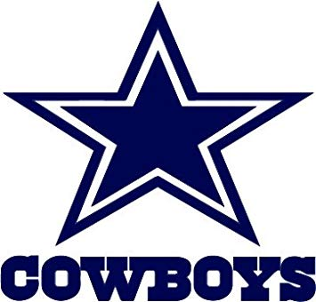 Dallas cowboys clipart window. Tdt printing custom decals