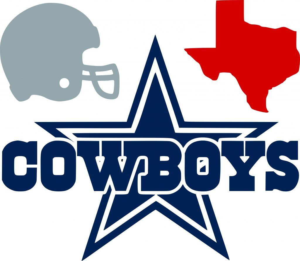 Dallas cowboys clipart window. Free svg file cricut