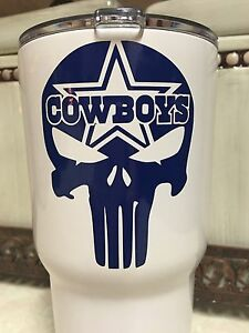 Dallas cowboys clipart yeti. Details about punisher decal