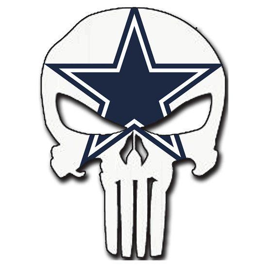 Punisher logo . Dallas cowboys clipart yeti