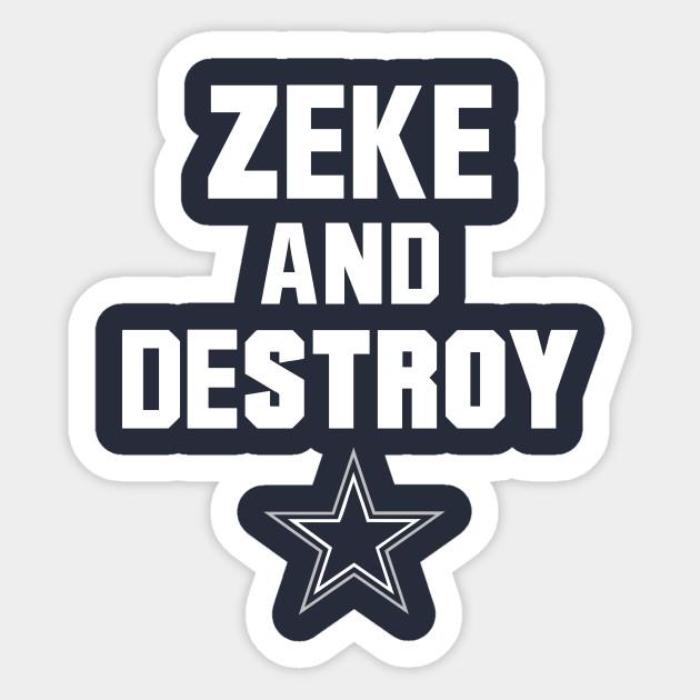 dallas cowboys clipart zeke