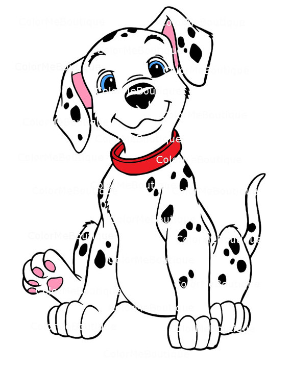 Dalmatian clipart. Like this item