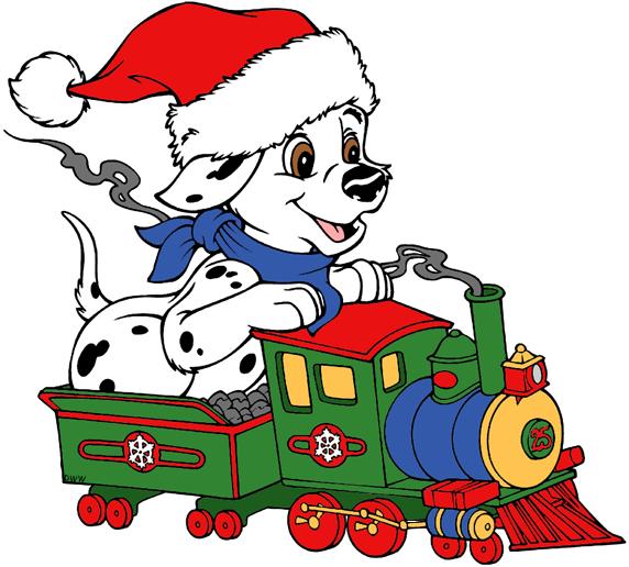 dalmatians clip art. Dalmatian clipart christmas