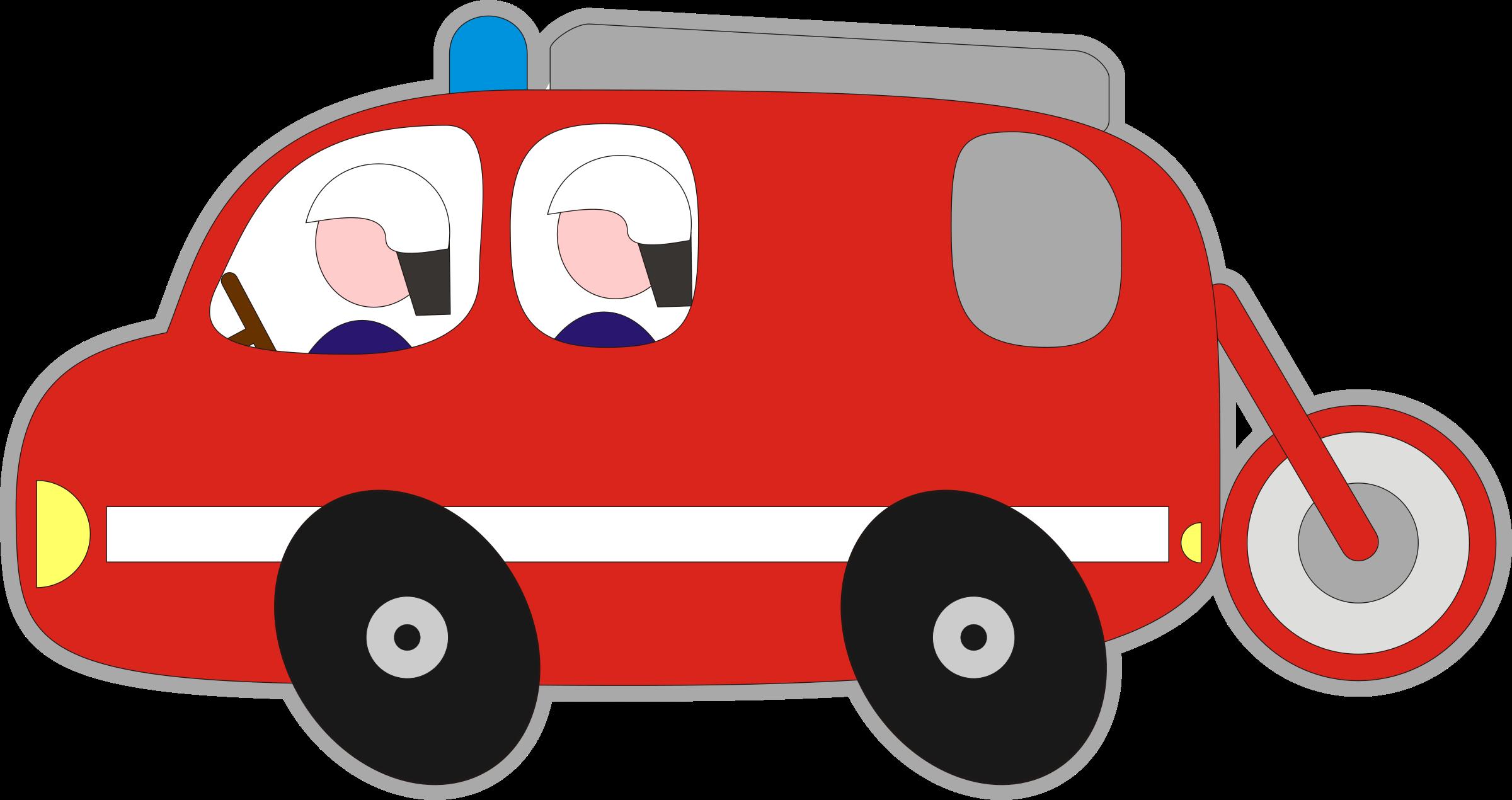 Clip art fire trucks. Engine clipart vector