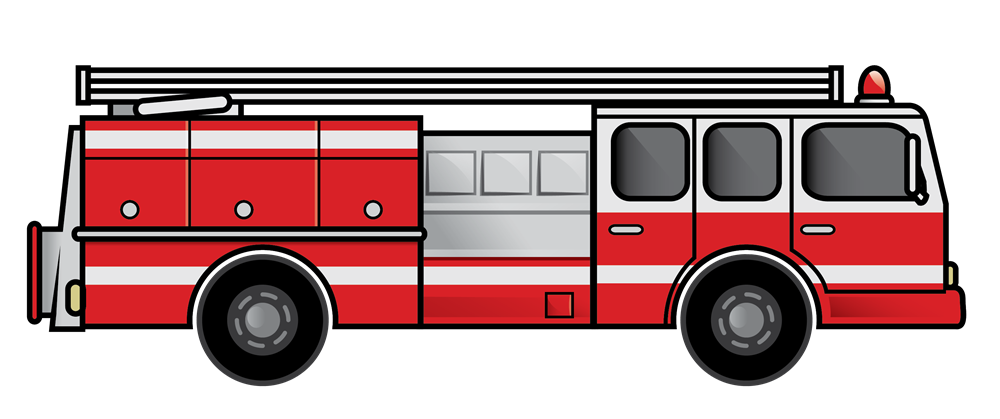 Fire truck at getdrawings. Transportation clipart 5 land