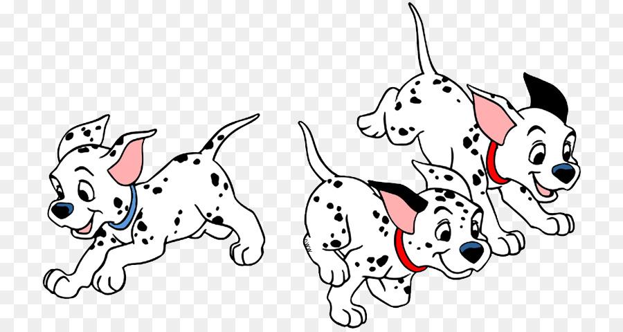 Dalmatian clipart pup. Cat and dog cartoon