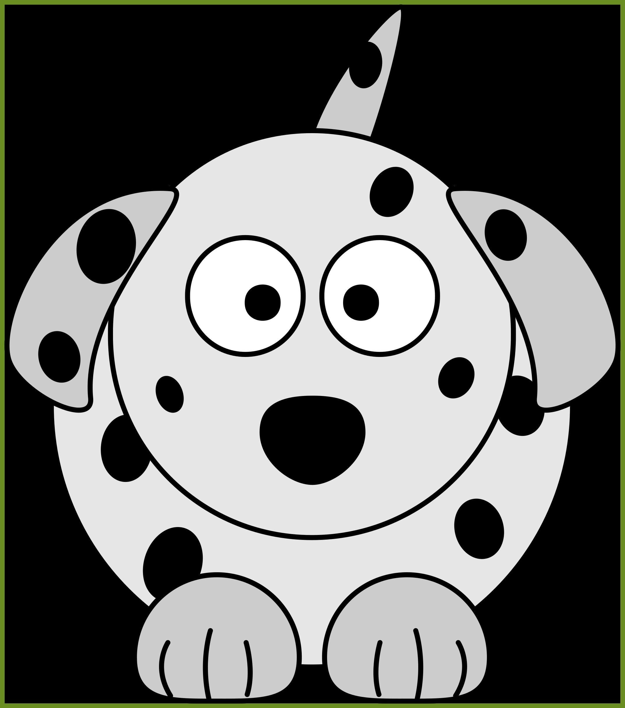 Incredible dog bone black. Sad clipart dalmatian