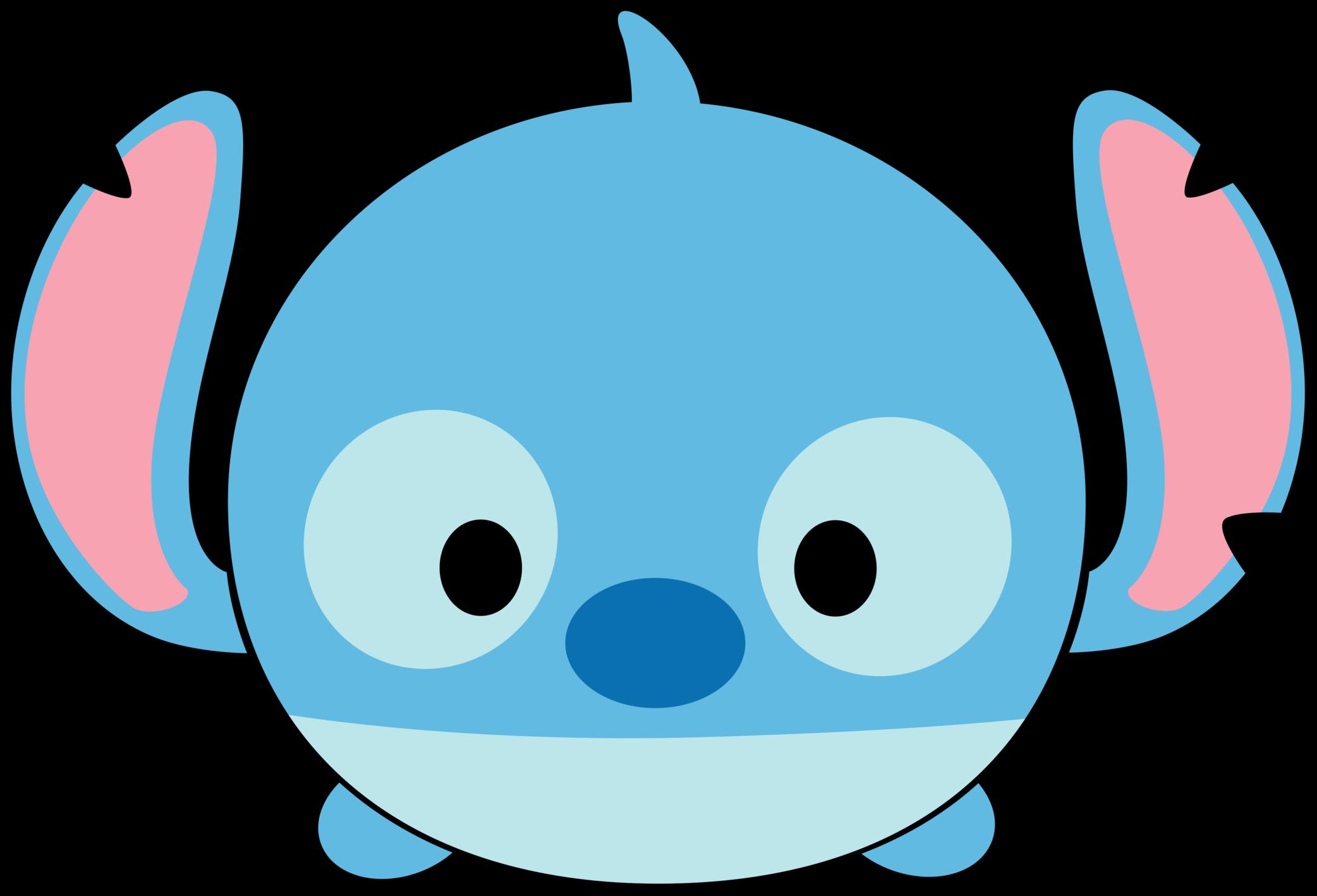 Disney pinterest tsum . Stitch clipart face