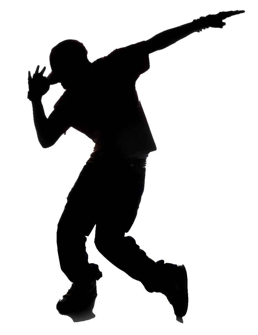Dance clipart. Hip hop dancer panda