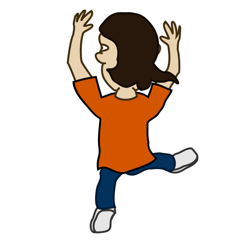Dance clipart animated. Kids party clip art