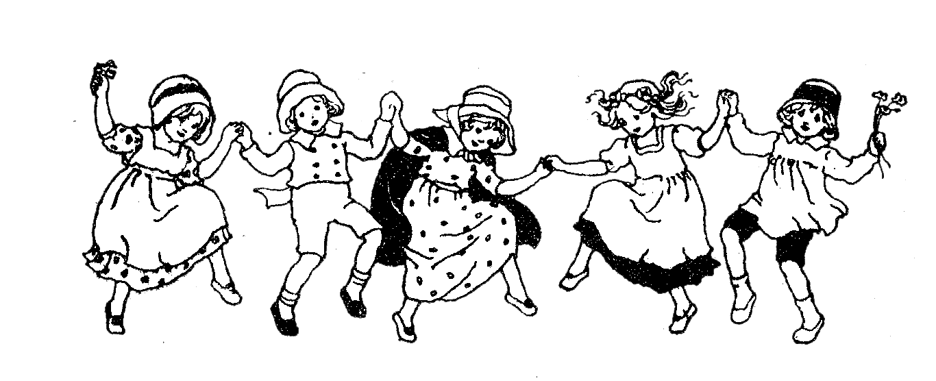 Inspirational of children black. White clipart dancing