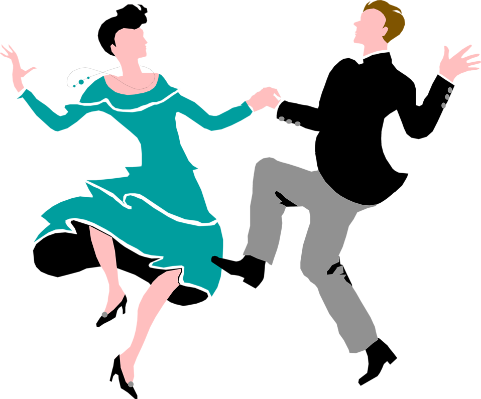 Couple free stock photo. Human clipart dancing