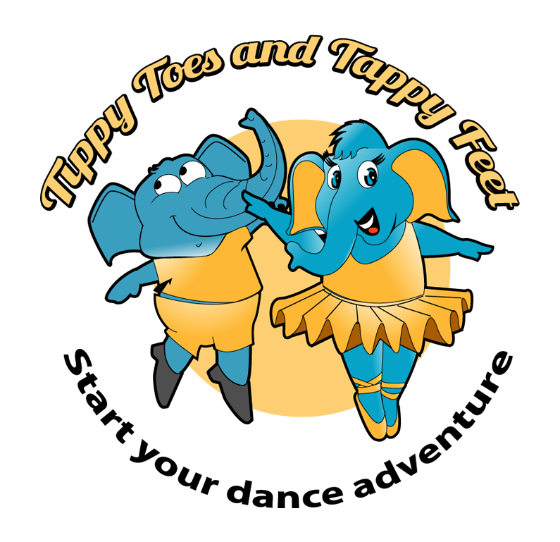 Tippy toes and tappy. Dance clipart dance troupe