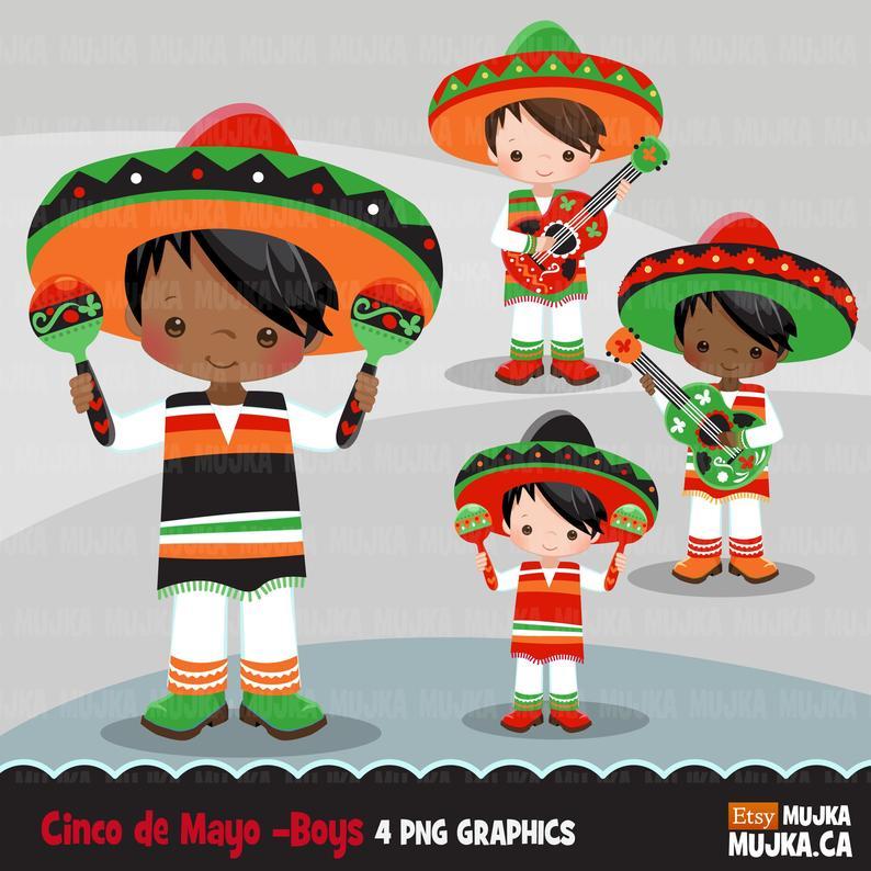 Cinco de mayo mexican. Dance clipart fiesta