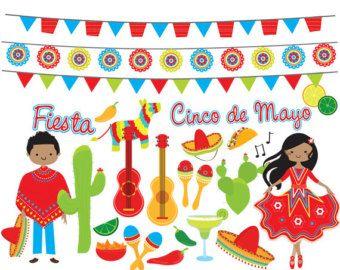Dance clipart fiesta. Mexican clip art cin