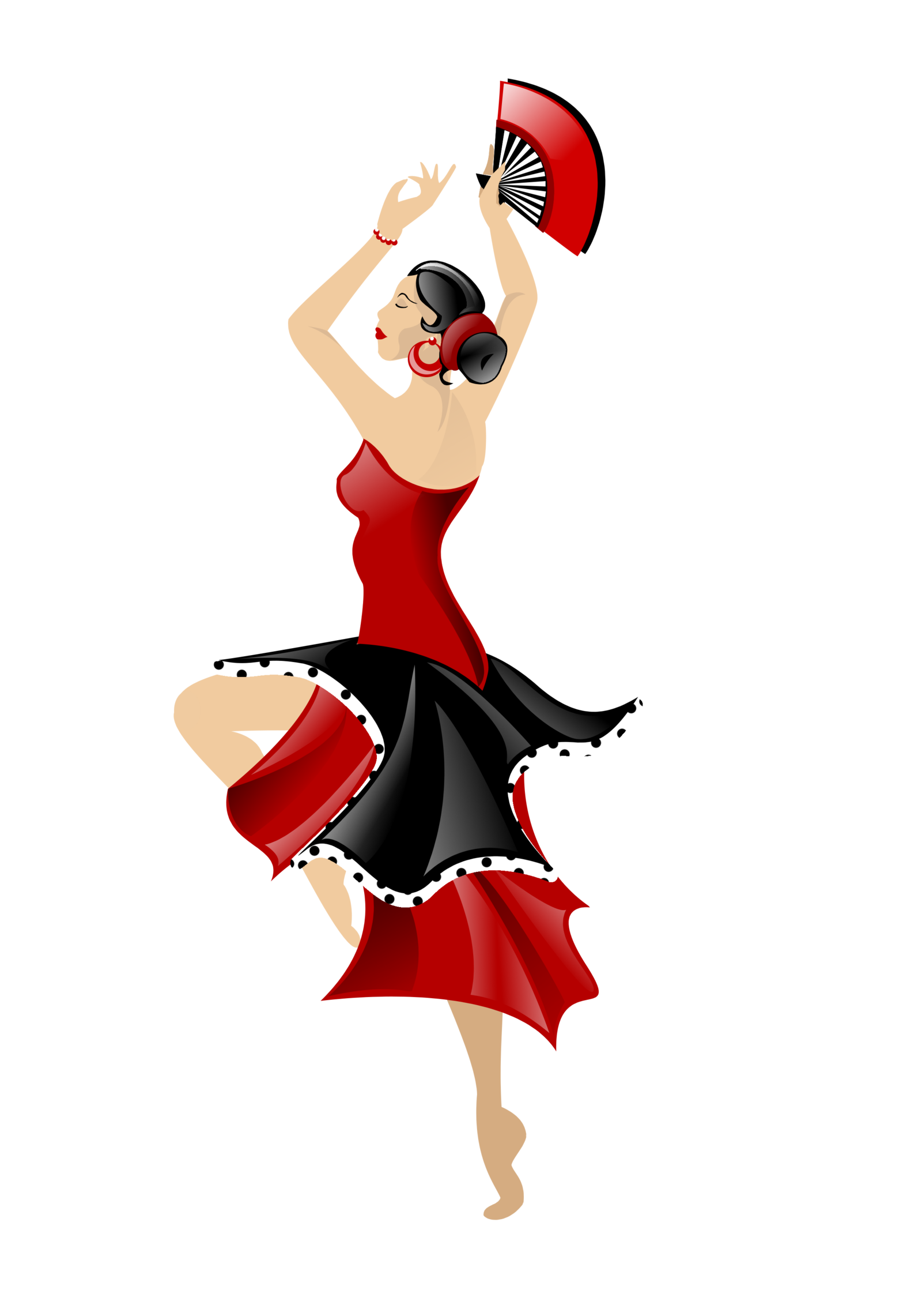 Dance clipart odishi.  collection of flamenco