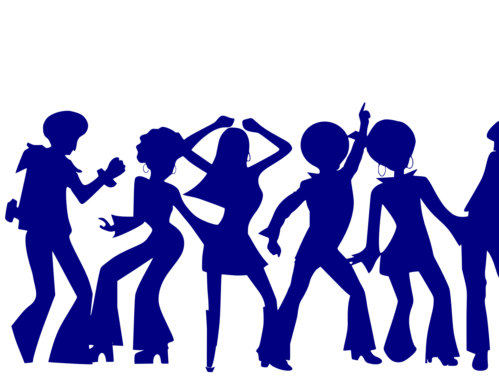 Humans clipart community person. Dancing people drawing at