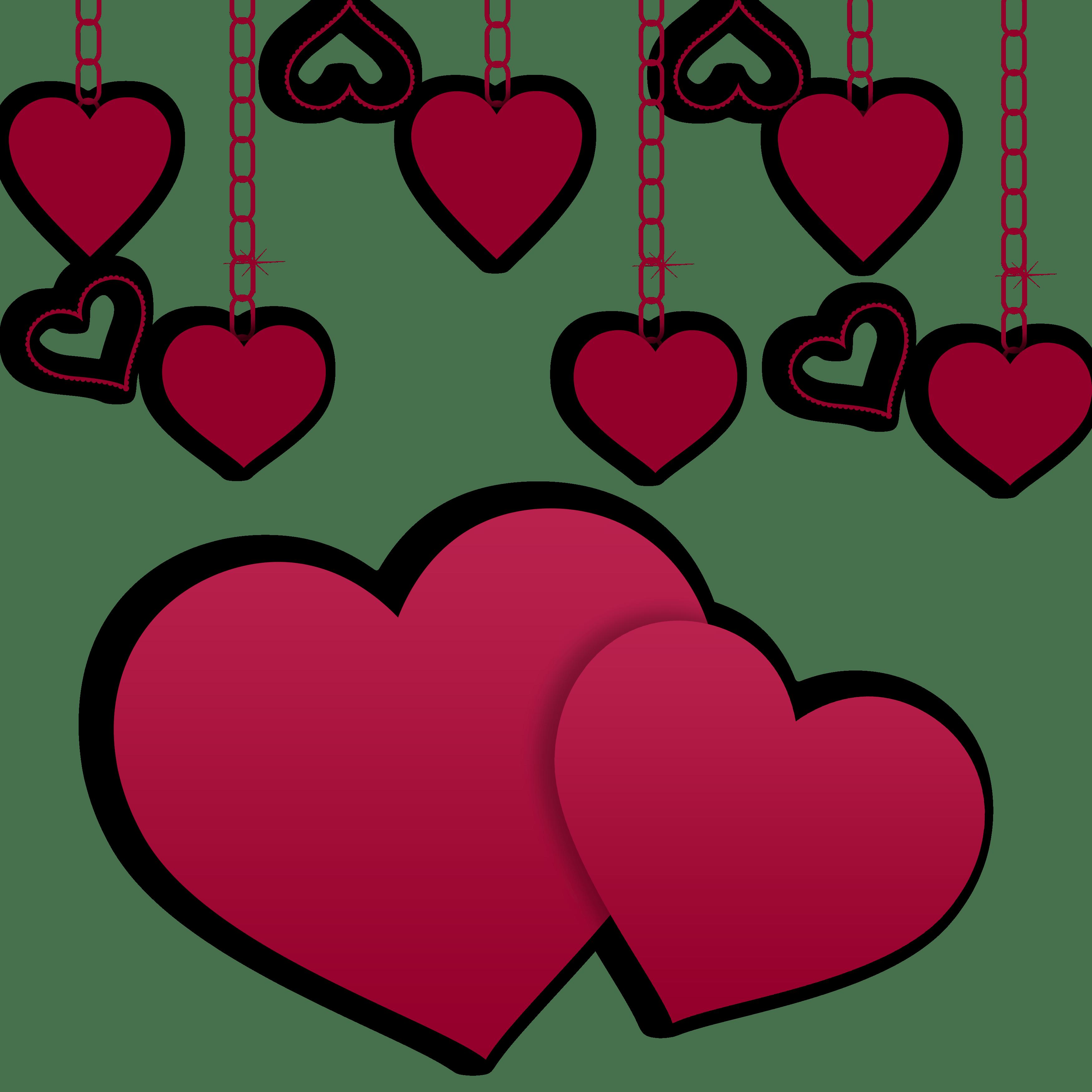 Heat clipart funky heart. Hearts illustration valentine day
