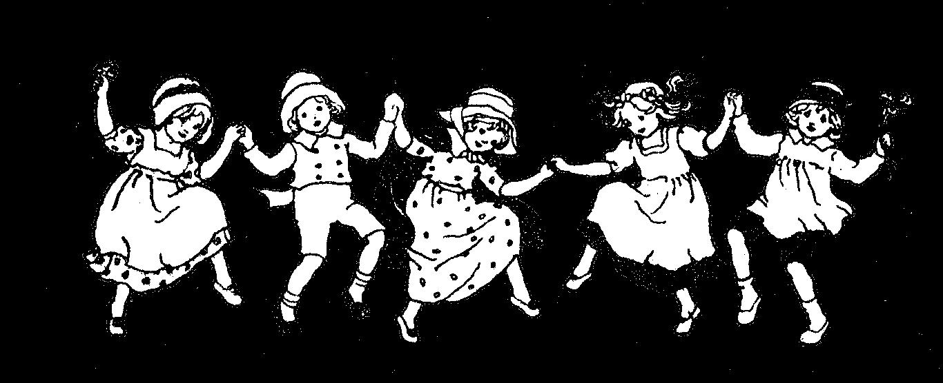 Free vintage digital stamp. Retro clipart dance
