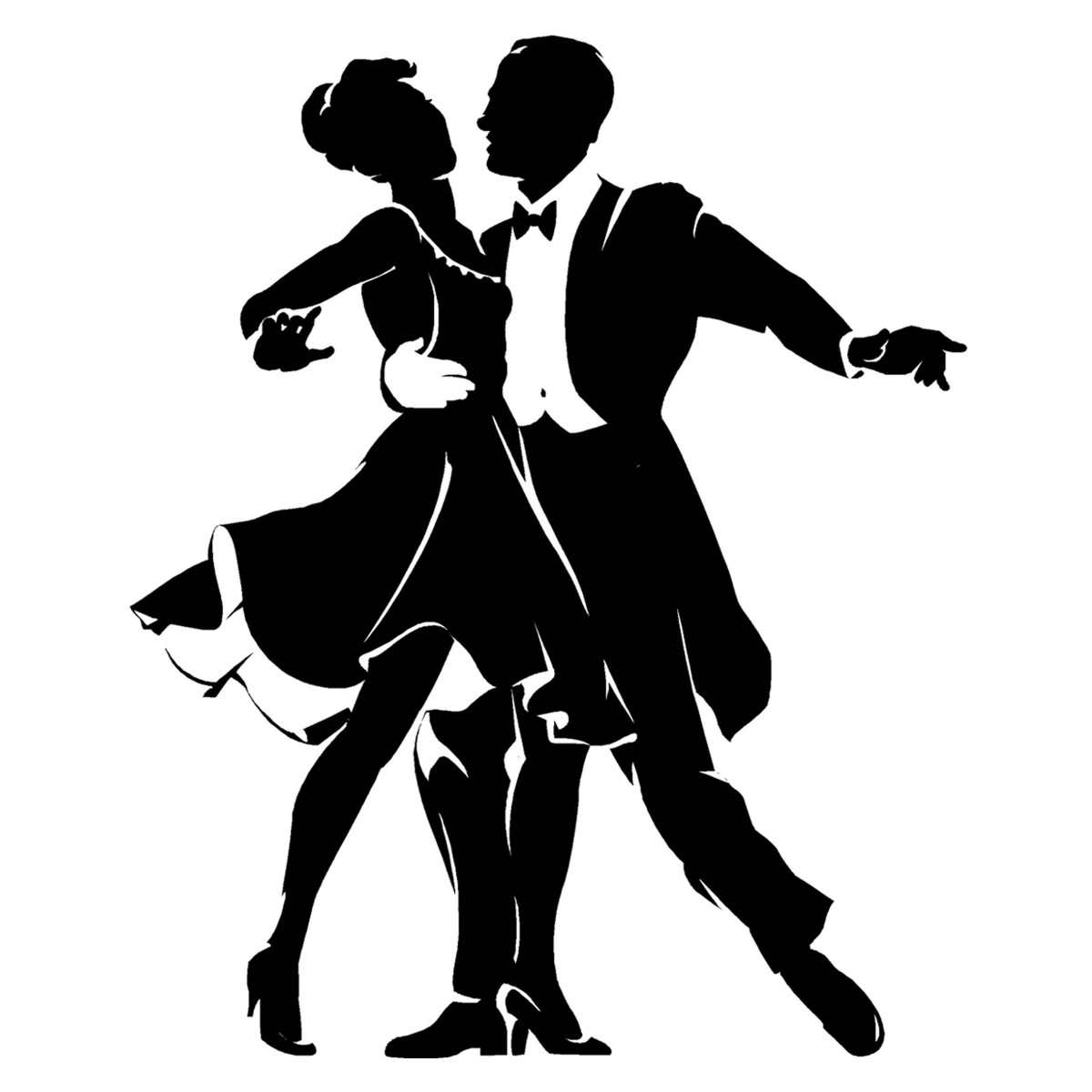 Free dancing cliparts download. Dancer clipart couple dance