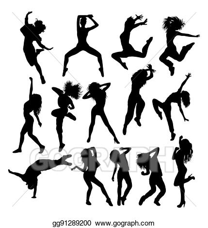 Eps vector hip hop. Dancer clipart object