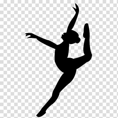 Dancer clipart transparent background. Ballerina ballet silhouette pointe