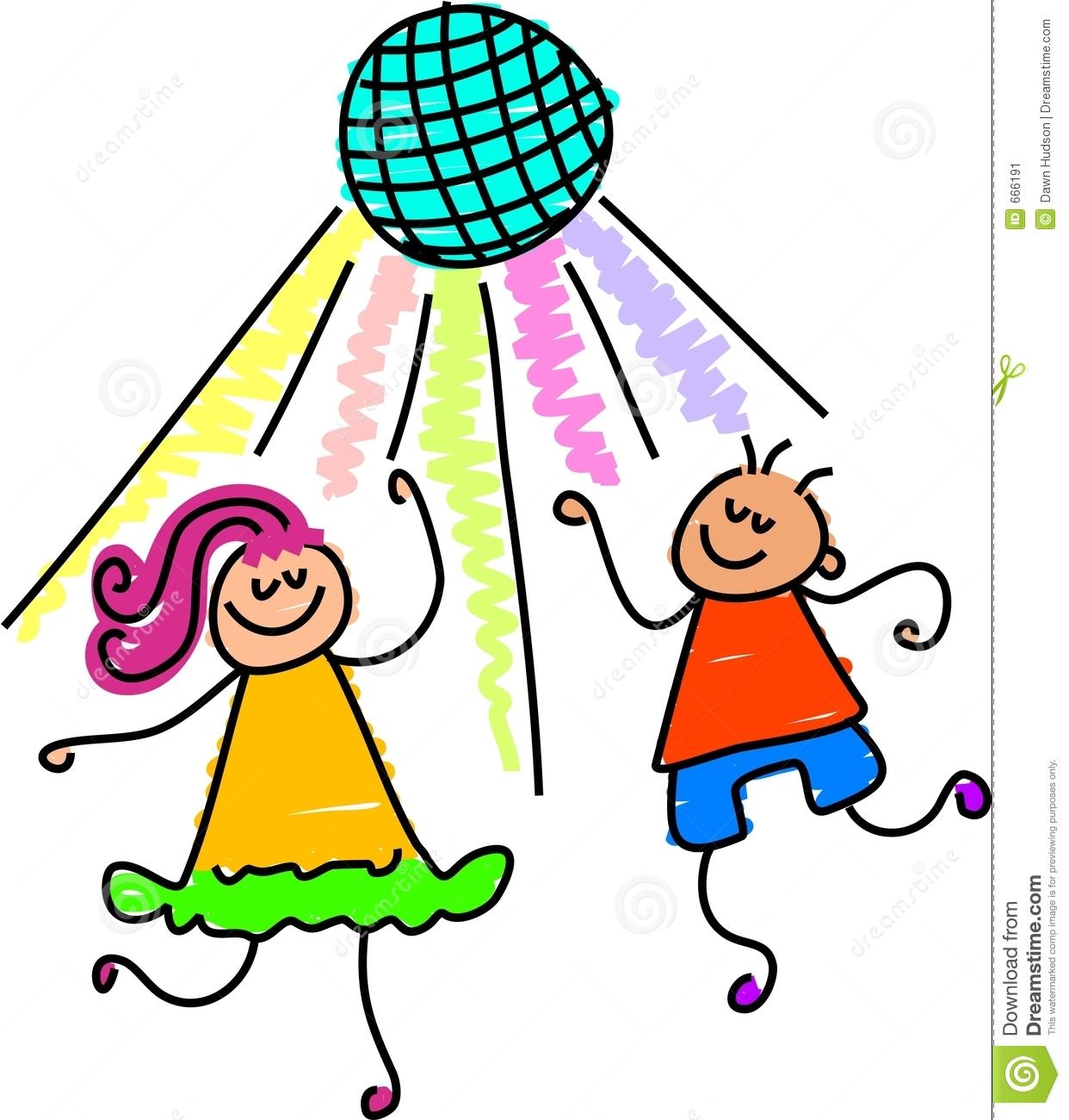 Dancing clipart children's. Children free download best