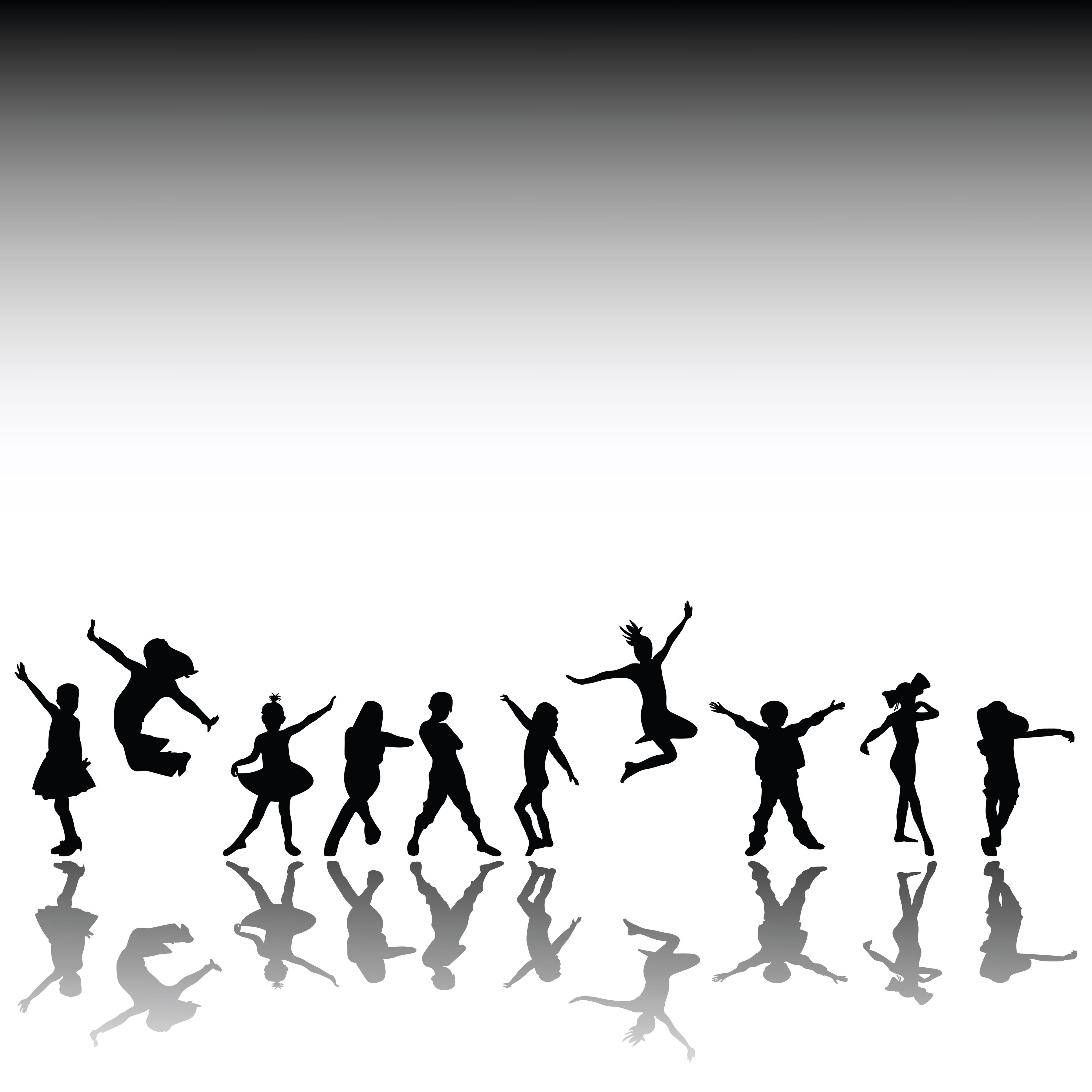 Best kids dancing clipartion. Movement clipart dacing