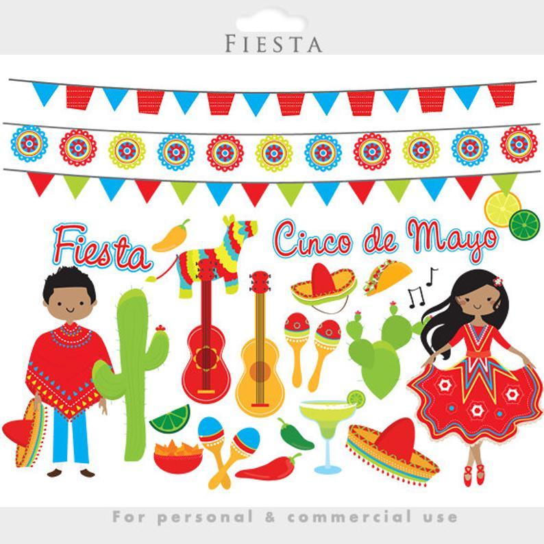Dancing clipart fiesta. Mexican cinco de mayo