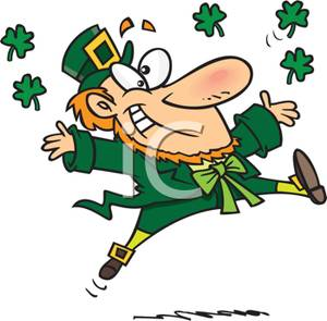 Patrick s cartoon of. Dancing clipart st patrick's day