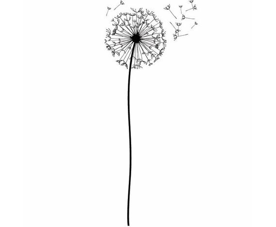 Dandelion clipart flower side. Blow pedal wish nature