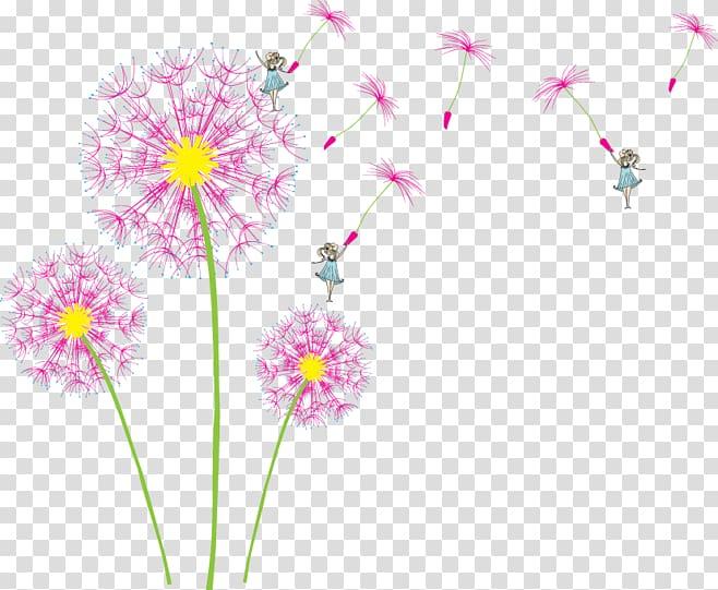 Dandelion clipart pink dandelion. Iphone s transparent background