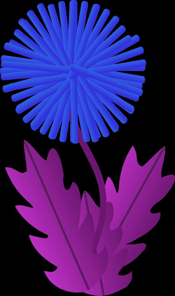 Dandelion clipart purple. Clip art cliparts co